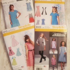 Girls Simplicity Patterns Bundle